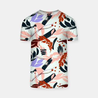 Miniatur Modern abstract nature I Camiseta, Live Heroes