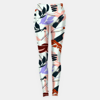 Miniatur Modern abstract nature I Leggings, Live Heroes