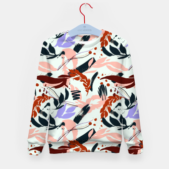 Thumbnail image of Modern abstract nature I Sudadera para niños, Live Heroes