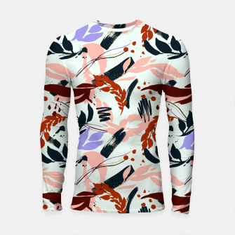 Thumbnail image of Modern abstract nature I Longsleeve rashguard, Live Heroes