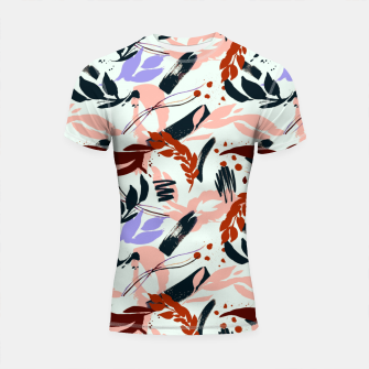 Thumbnail image of Modern abstract nature I Shortsleeve rashguard, Live Heroes