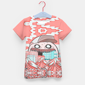 Monster attack  Kid's t-shirt thumbnail image
