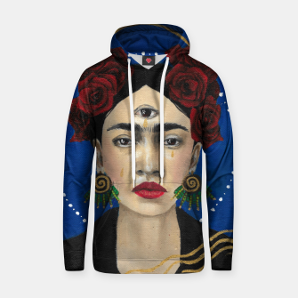 Thumbnail image of FRIDA Cotton hoodie, Live Heroes