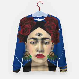 Thumbnail image of FRIDA Kid's sweater, Live Heroes
