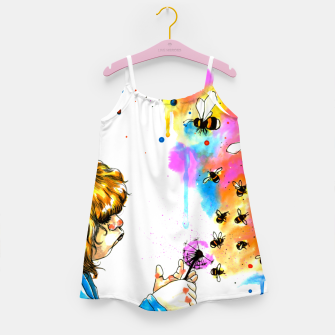 Miniature de image de bumblebees Girl's dress, Live Heroes
