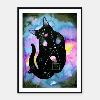 Thumbnail image of catnip Framed poster, Live Heroes