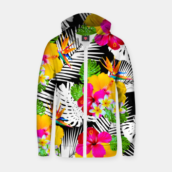 Hawaii Cotton zip up hoodie miniature