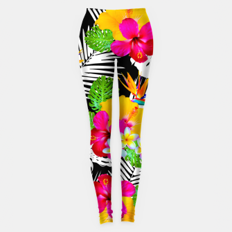 Miniatur Hawaii Leggings, Live Heroes