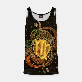 Thumbnail image of Virgo Zodiac Sign Earth element Tank Top, Live Heroes