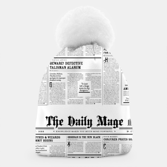 The Daily Mage Magic Fantasy Newspaper Beanie thumbnail image