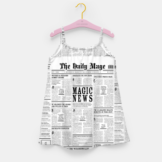 The Daily Mage Magic Fantasy Newspaper Girl's dress thumbnail image