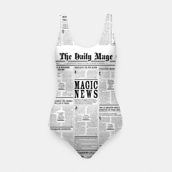 Thumbnail image of The Daily Mage Magic Fantasy Newspaper Swimsuit, Live Heroes