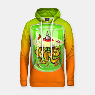 Thumbnail image of Radioactive Octopus  Cotton hoodie, Live Heroes