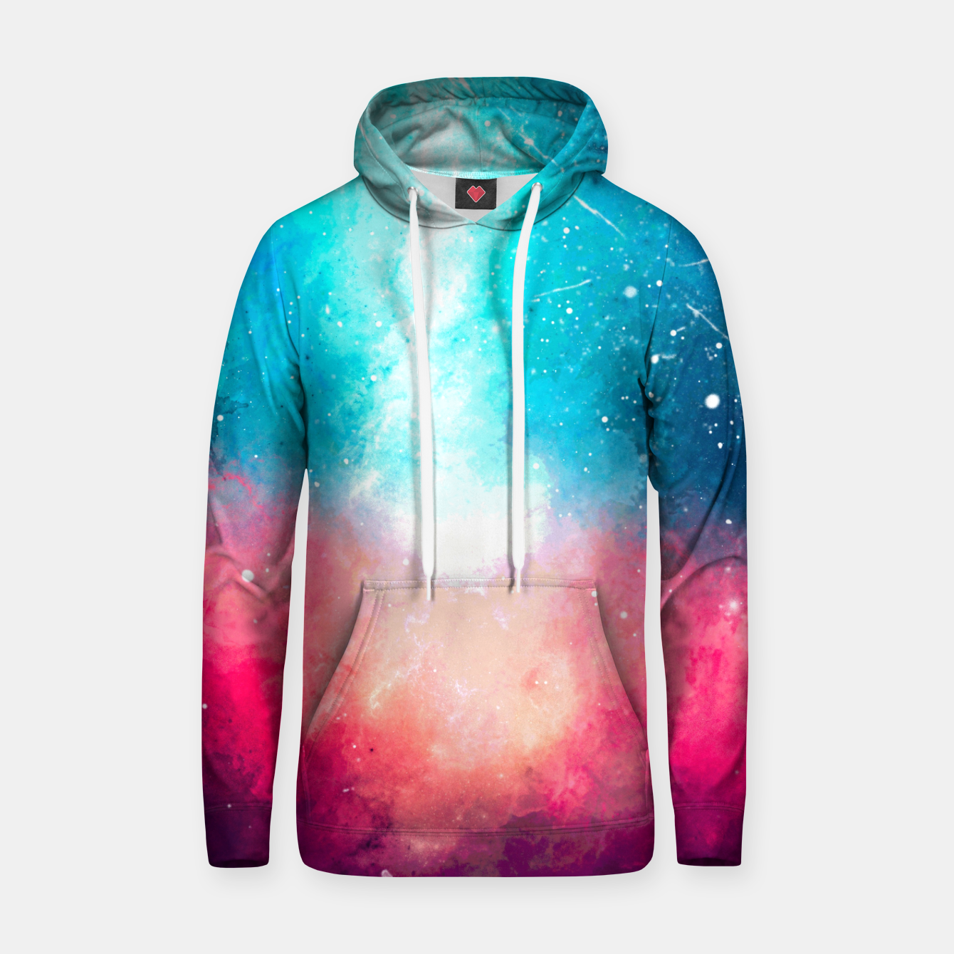 Image of Galaxy Cotton hoodie - Live Heroes