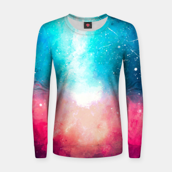Galaxy Woman cotton sweater Bild der Miniatur