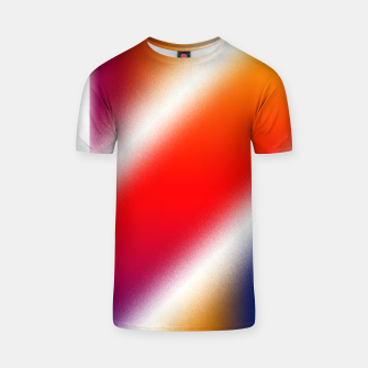 Thumbnail image of Particle Flow Rainbow T-shirt, Live Heroes