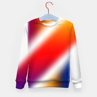 Thumbnail image of Particle Flow Rainbow Kid's sweater, Live Heroes