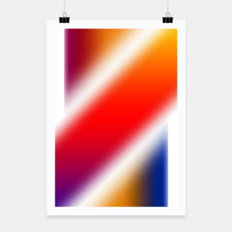 Thumbnail image of Particle Flow Rainbow Poster, Live Heroes