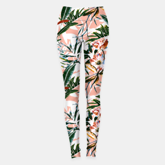 Miniature de image de Vibrant botanical dreams  Leggings, Live Heroes