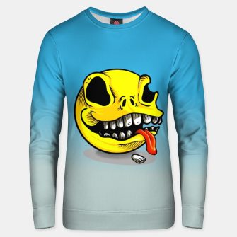 Thumbnail image of Packman Skull Cotton sweater, Live Heroes
