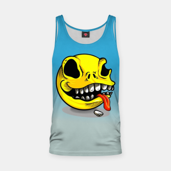 Thumbnail image of Packman Skull Tank Top, Live Heroes