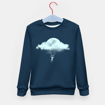 Miniature de image de THROUGH THE CLOUDS Kid's sweater, Live Heroes