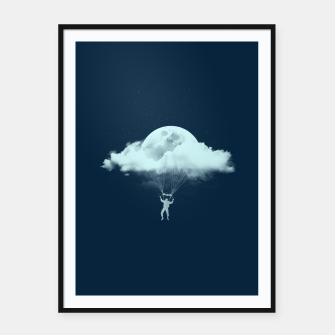Miniatur THROUGH THE CLOUDS Framed poster, Live Heroes