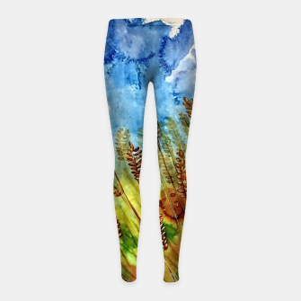 Thumbnail image of Finland Funland 3 Girl's leggings, Live Heroes