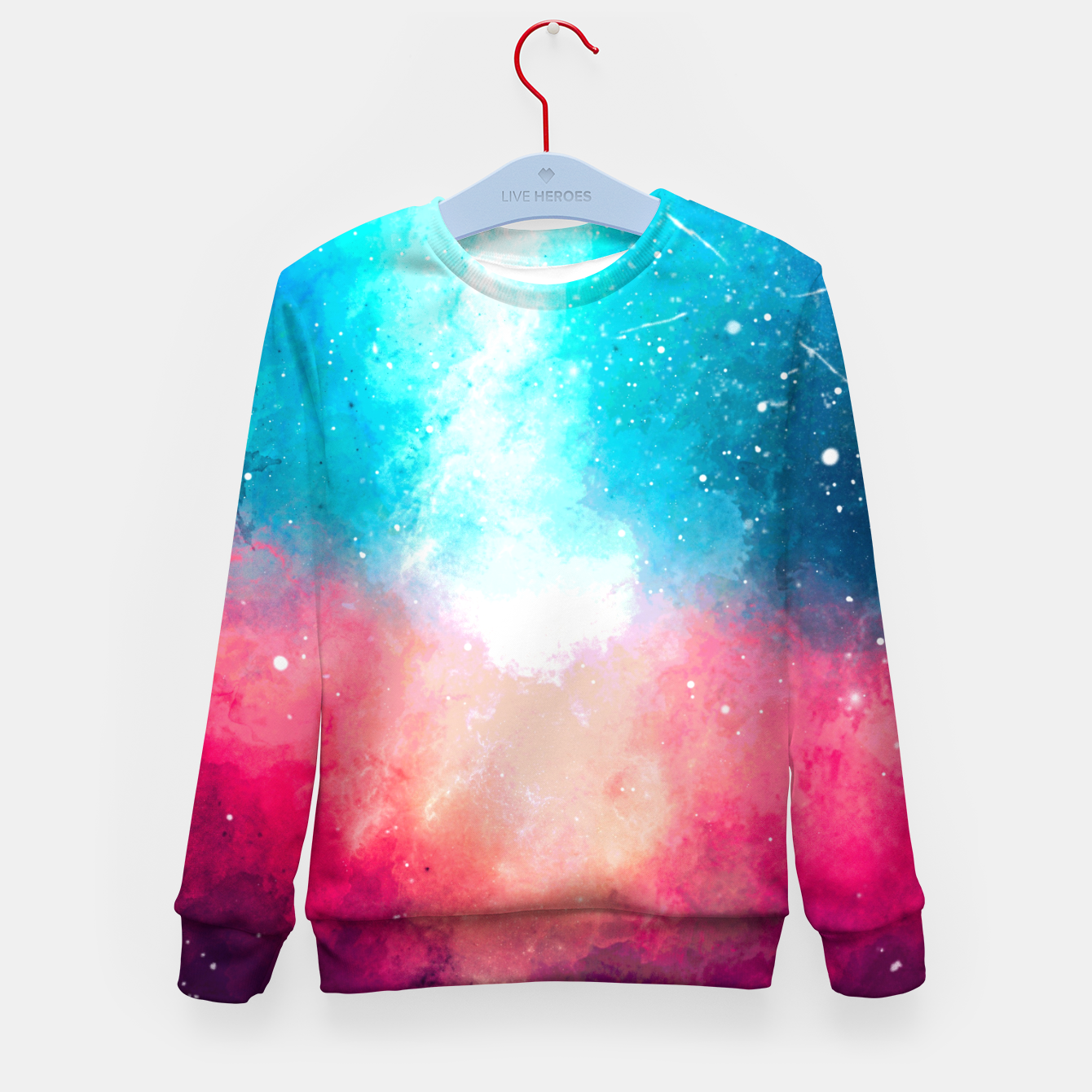Image of Galaxy Kid's sweater - Live Heroes