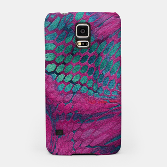 Animal print design - asia dragon Samsung Case Bild der Miniatur