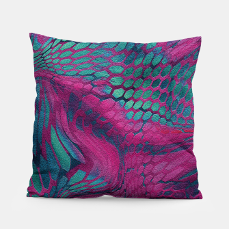 Animal print design - asia dragon Pillow Bild der Miniatur