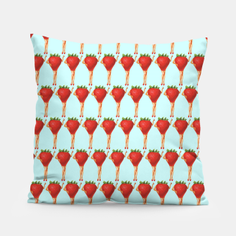 Thumbnail image of Strawberry Season Pillow, Live Heroes