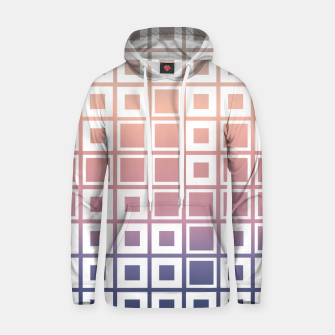 Thumbnail image of Mosaic Cubes on pastel color Cotton hoodie, Live Heroes