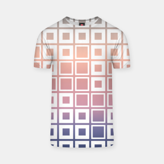 Thumbnail image of Mosaic Cubes on pastel color T-shirt, Live Heroes