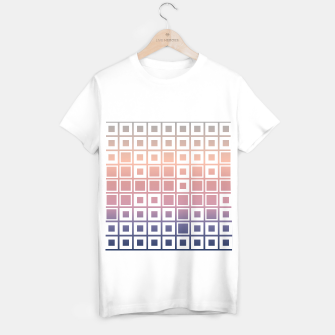Thumbnail image of Mosaic Cubes on pastel color T-shirt regular, Live Heroes