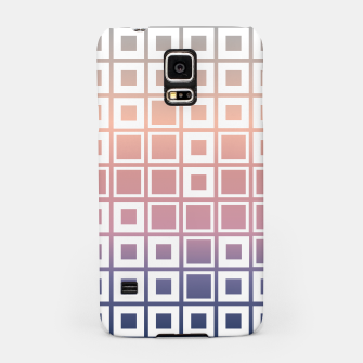 Thumbnail image of Mosaic Cubes on pastel color Samsung Case, Live Heroes