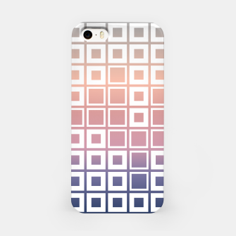 Thumbnail image of Mosaic Cubes on pastel color iPhone Case, Live Heroes