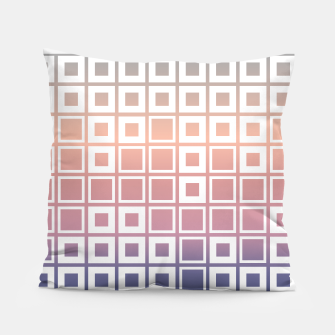 Thumbnail image of Mosaic Cubes on pastel color Pillow, Live Heroes