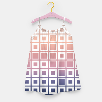 Thumbnail image of Mosaic Cubes on pastel color Girl's dress, Live Heroes