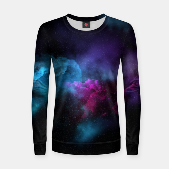 Miniatur Nebularium Woman cotton sweater, Live Heroes