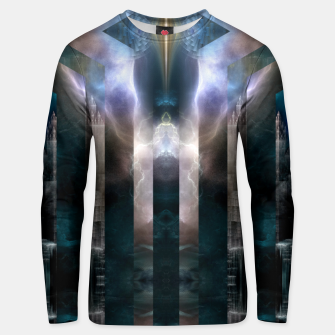 Thumbnail image of Cross Dimensions Cotton sweater, Live Heroes