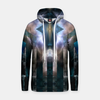 Thumbnail image of Cross Dimensions Cotton hoodie, Live Heroes