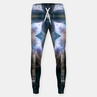 Thumbnail image of Cross Dimensions Cotton sweatpants, Live Heroes