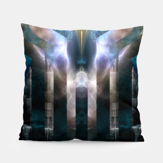 Thumbnail image of Cross Dimensions Pillow, Live Heroes