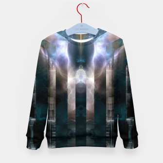 Thumbnail image of Cross Dimensions Kid's sweater, Live Heroes
