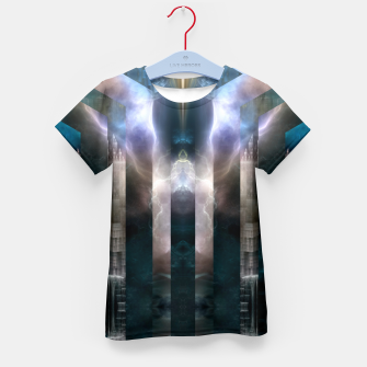 Thumbnail image of Cross Dimensions Kid's t-shirt, Live Heroes