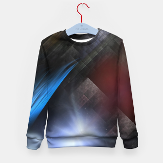Thumbnail image of Moon Orb Realm Kid's sweater, Live Heroes