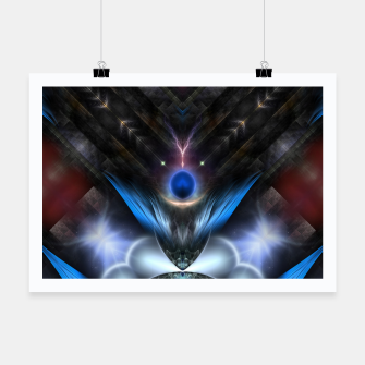 Thumbnail image of Moon Orb Realm Poster, Live Heroes