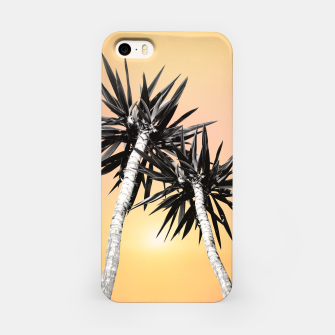 Miniaturka Cali Summer Vibes Palm Trees #2 #tropical #decor #art iPhone-Hülle, Live Heroes