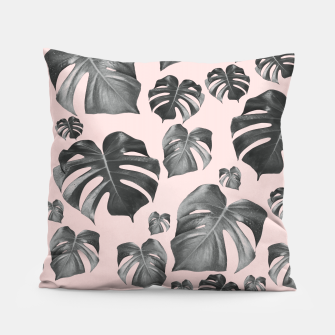 Thumbnail image of Tropical Monstera Pattern #6 #tropical #decor #art Kissen, Live Heroes